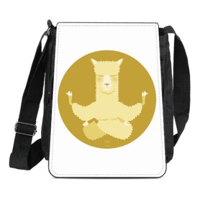 Сумка-планшет Animal Zen: A is for Alpaca
