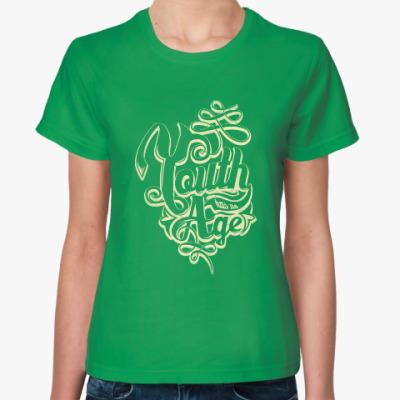 Женская футболка Youth age