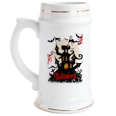 Пивная кружка Хэллоуин