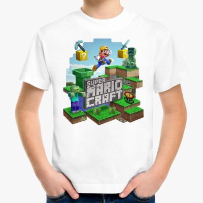 Детская футболка Super Mario Craft