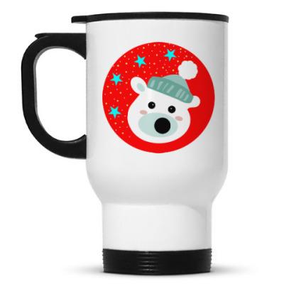 Кружка-термос Полярный медведь