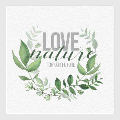 Постер LoveNature