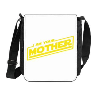 Сумка на плечо (мини-планшет) Я твоя мать