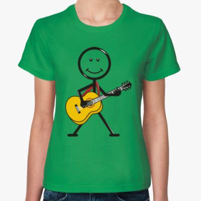 Женская футболка Веселый арт. Юмор. Приколы.