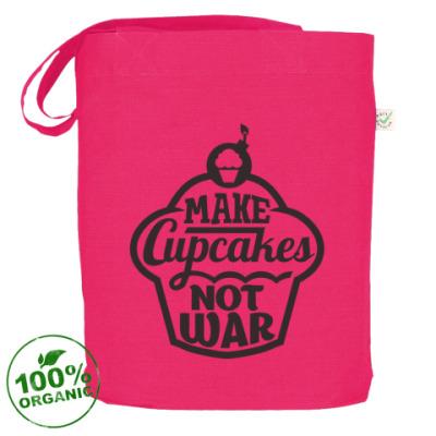 Сумка Make cupcakes not war
