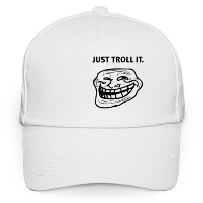 Кепка бейсболка Just Troll It.