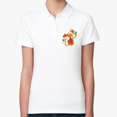Женская рубашка поло Жар-птица