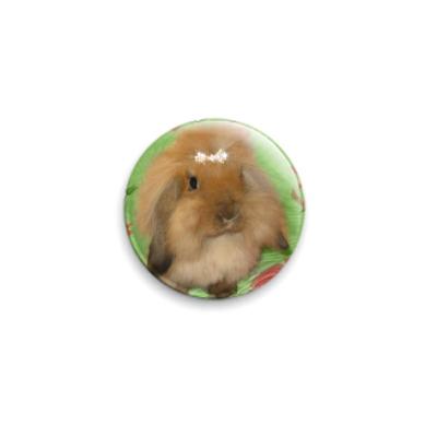 Значок 25мм Кролик Кекки