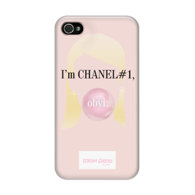 Чехол для iPhone 4/4s Channel#1 quotes. Scream Queens