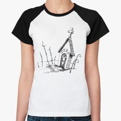 Женская футболка реглан Zero