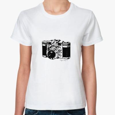 Классическая футболка Фото