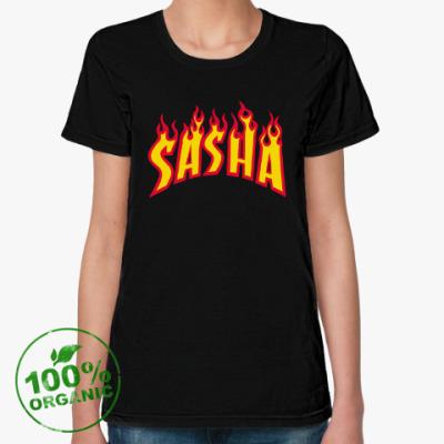 Женская футболка из органик-хлопка SASHA