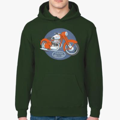 Толстовка худи Ретро мотоцикл ЯВА 50-е
