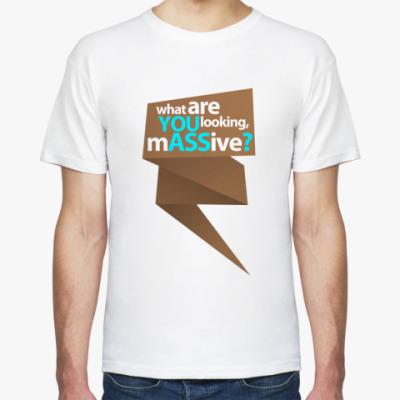 Футболка  футболка YOU ASS4?