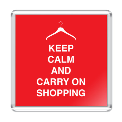 Магнит Keep calm and carry one