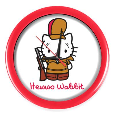 Настенные часы Hawwo Wabbit