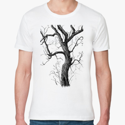 Футболка из органик-хлопка Old tree