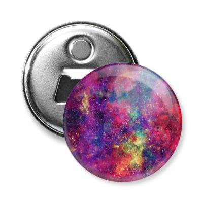 Магнит-открывашка Космос
