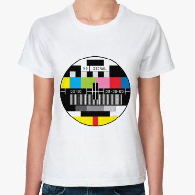 Классическая футболка  Теле