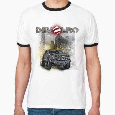 Футболка Ringer-T DEVOLRO