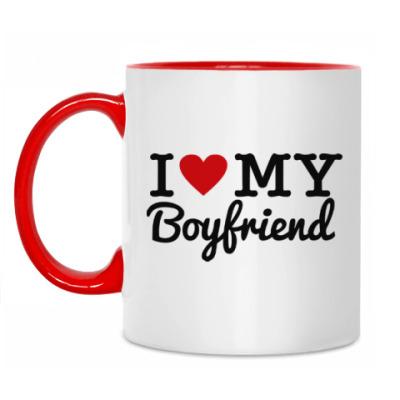 Кружка I love my boyfriend