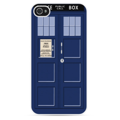 Чехол для iPhone Tardis