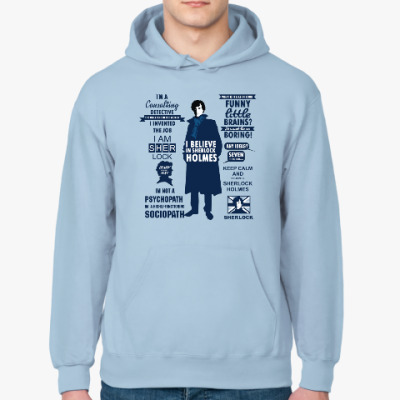 Толстовка худи Sherlock Holmes  (TV series)