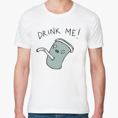 Футболка из органик-хлопка Drink