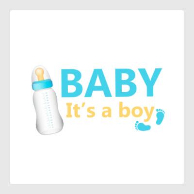 Постер Baby It'a a boy