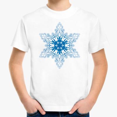 Детская футболка Снежиночка