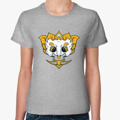 Женская футболка Маска Сова