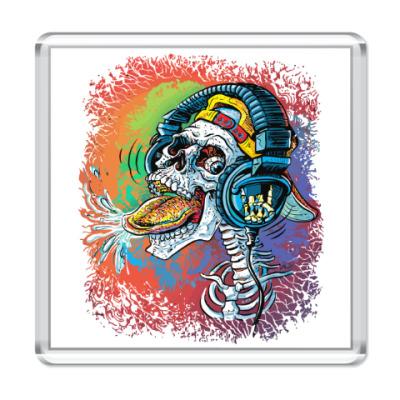 Магнит Rock Skull