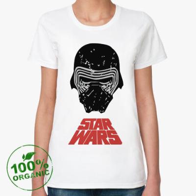 Женская футболка из органик-хлопка Кайло Рен star wars