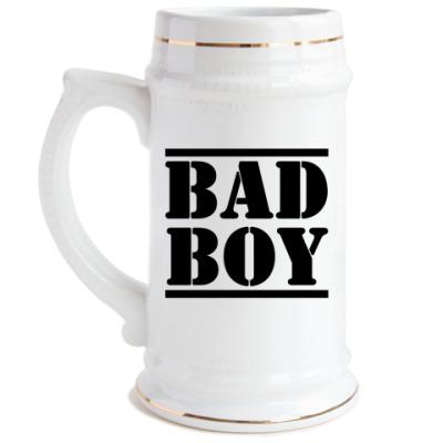 Пивная кружка BAD BOY