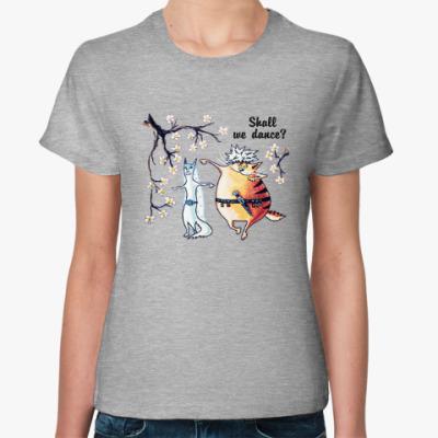 Женская футболка Потанцуем?