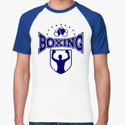 Футболка реглан Boxing