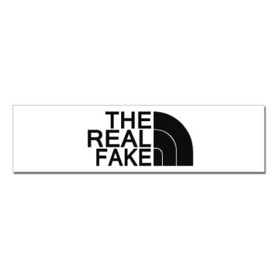 Наклейка (стикер) The North Face(пародия)