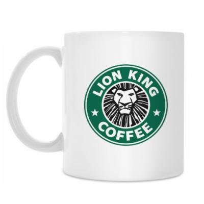 Кружка Lion king coffee