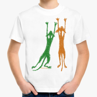 Детская футболка Поползни