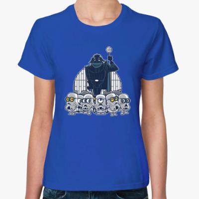 Женская футболка Darth Vader & Minions