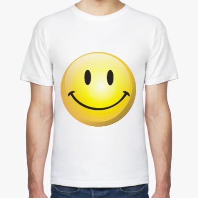 Футболка Смайлик-улыбка
