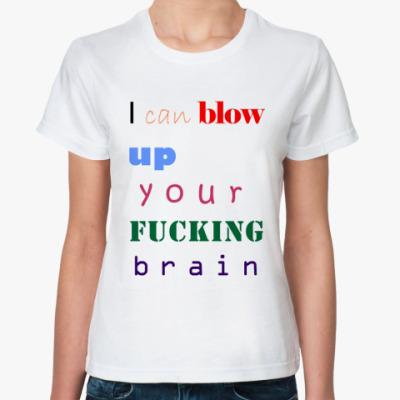 Классическая футболка ALP Blow Up