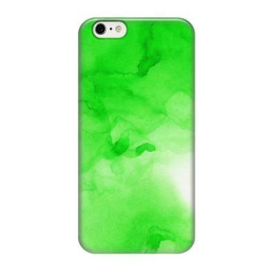 Чехол для iPhone 6/6s Яркие разводы акварель