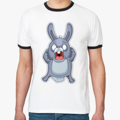 Футболка Ringer-T   Кролик
