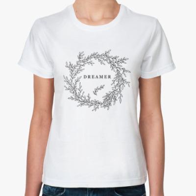 Классическая футболка Dreamer