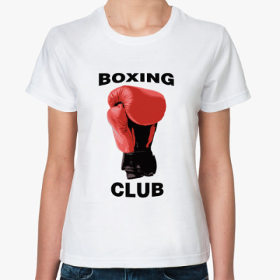 Классическая футболка boxing