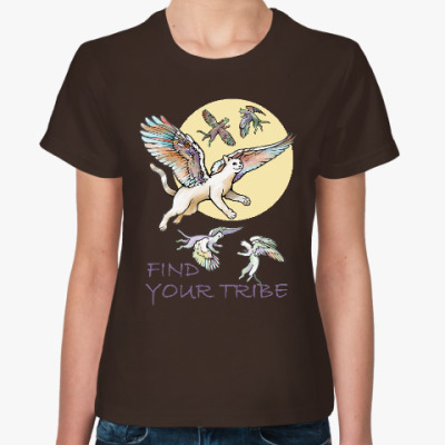 Женская футболка Найди свою стаю