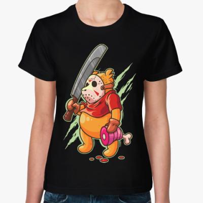Женская футболка Джейсон Пух (Пятница 13)