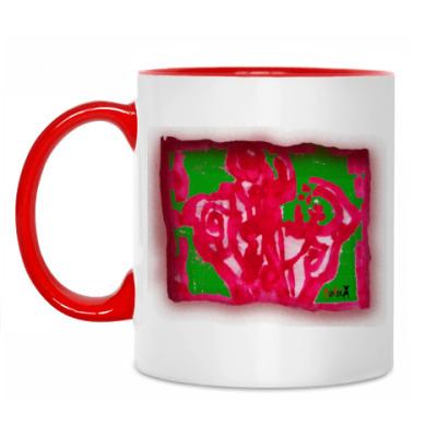 Кружка RED ROSE