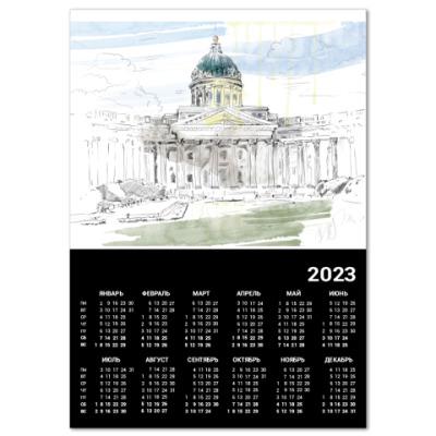 Календарь  A3 Казанский собор